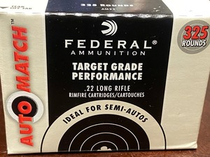 (325) Rounds Federal AutoMatch Targ...
