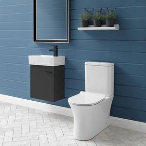 SWISS MADISON Calice 2-piece 0.8/1.28 GPF Dual Flush Elongated Toilet in White Seat Included