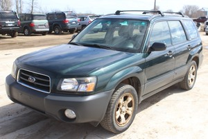 2003 Subaru Forester X AWD - 5 Speed Manual - ONE OWNER - 144,756 Miles -