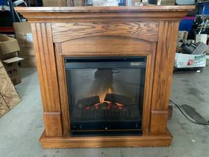 "Dimplex Electric Fireplace 37"" Wide 36"" Tall"