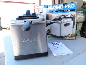 Waring Pro Professional Quality Deep Fryer DF 175