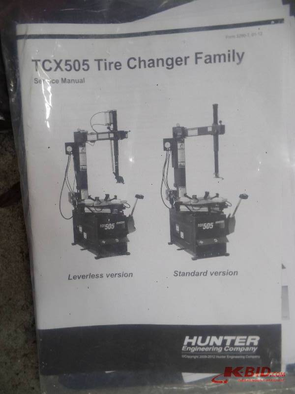 Hunter TCX535 Tire Changer | ABI 222 DARTS Automotive Service Center Liquidation | K-BID