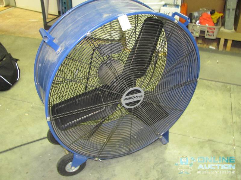 Flow Pro High Velocity Air Circulator : Workshop industrial tools equipment in hudson