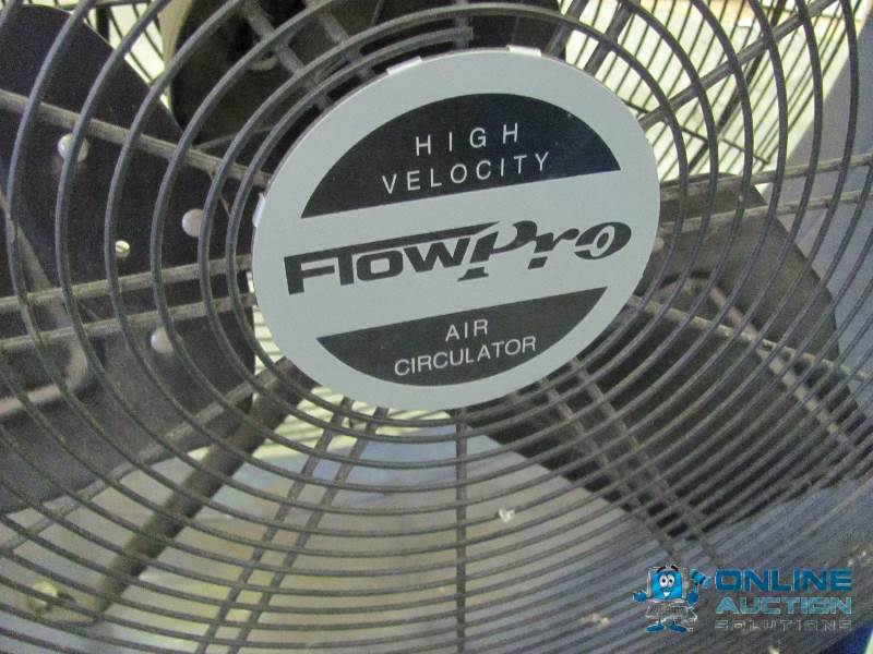 Flow Pro High Velocity Air Circulator : Large quot diameter flowpro high veloci workshop