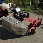 Toro model 30696 walk behind mower.