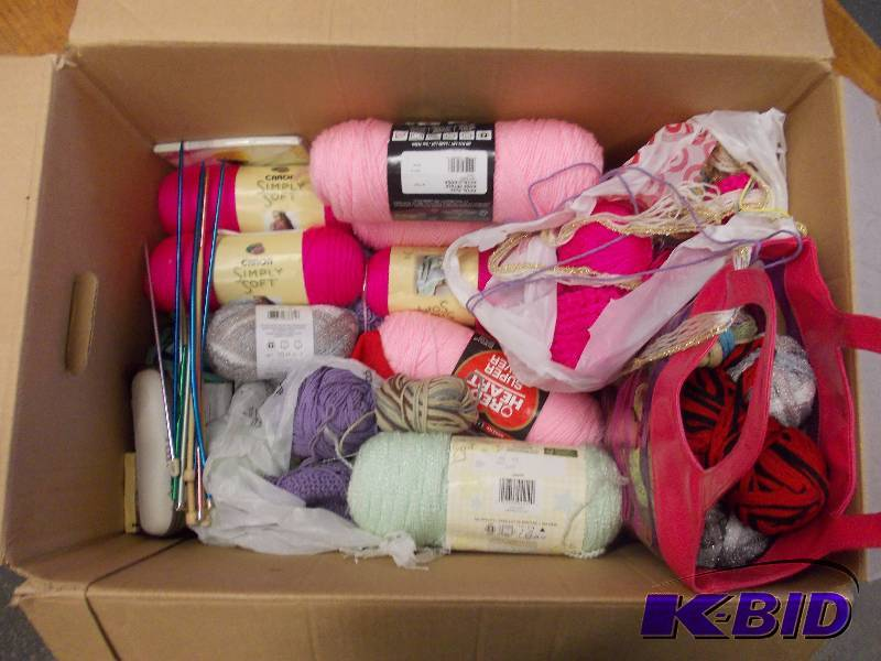 Knitting Terms Pm : Yarn knitting new used household consignments k bid