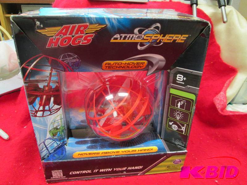 air hogs atmo sphere auto hover tec overstock return and closeout retail store goods k bid. Black Bedroom Furniture Sets. Home Design Ideas