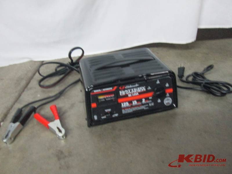 schumacher 100 amp battery charger manual