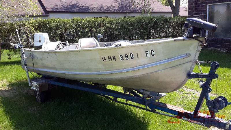 Auction listings in minnesota auction auctions rock for Auto launch trolling motor