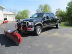 2006 Ford F-350 Diesel Crew Cab with plow