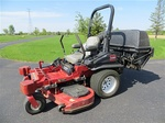 2009 Toro Z Master 6000 Zero Turn Mower with Vacuum Bagger