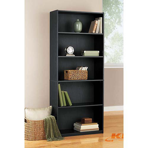 room essentials bookcase 5 shelf kx real deals furniture sporting goods geneneral. Black Bedroom Furniture Sets. Home Design Ideas