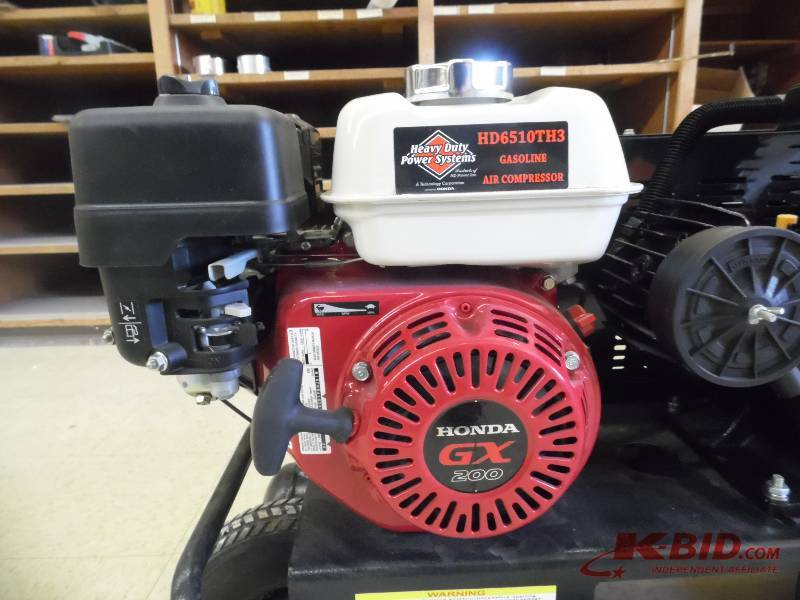 Hd6510th3 Triple Head Contractor S Series Air Compressor