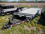"NEW 2014 18' x 5"" CHANNEL TILT CARHAULER, MODEL#T5182"
