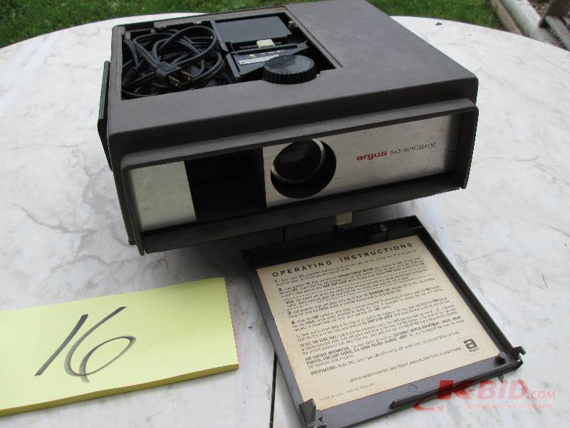 argus 500 automatic slide projector manual