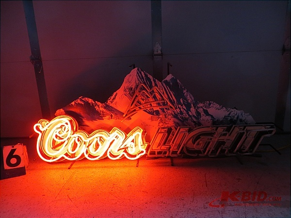 Coors Light Neon Sign May Beer Neons K Bid