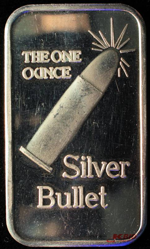 One Troy Oz 999 Fine Silver Silver Bullet Bar June