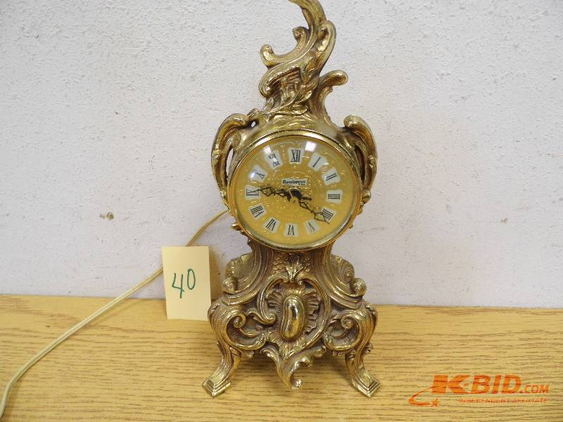 Renaissance Brand Clock | June #1 Consignment | K-BID