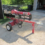 Trailer Wood Splitter, 30T Vertical/Horizontal
