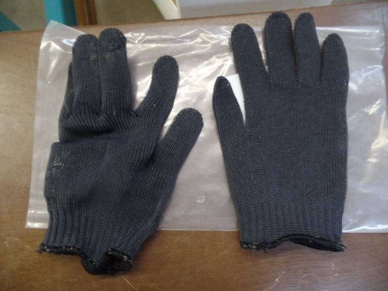 Fish cleaning gloves m a williams fishing more k bid for Fish cleaning gloves
