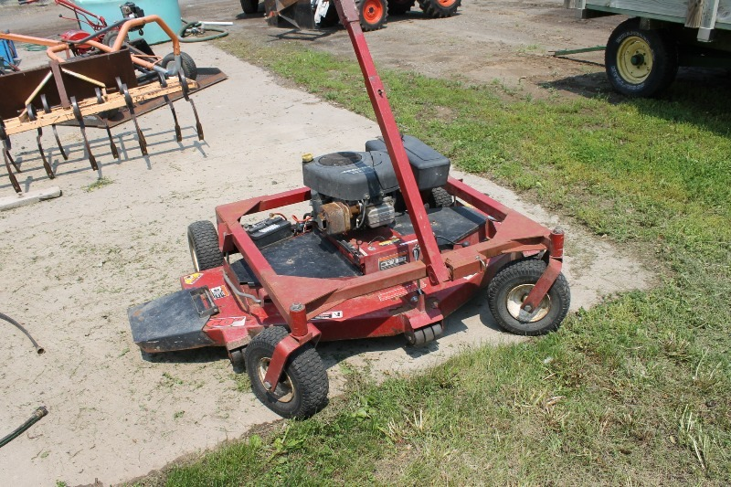 Swisher Pull Behind Mower | Landscape Contractor Surplus | K-BID