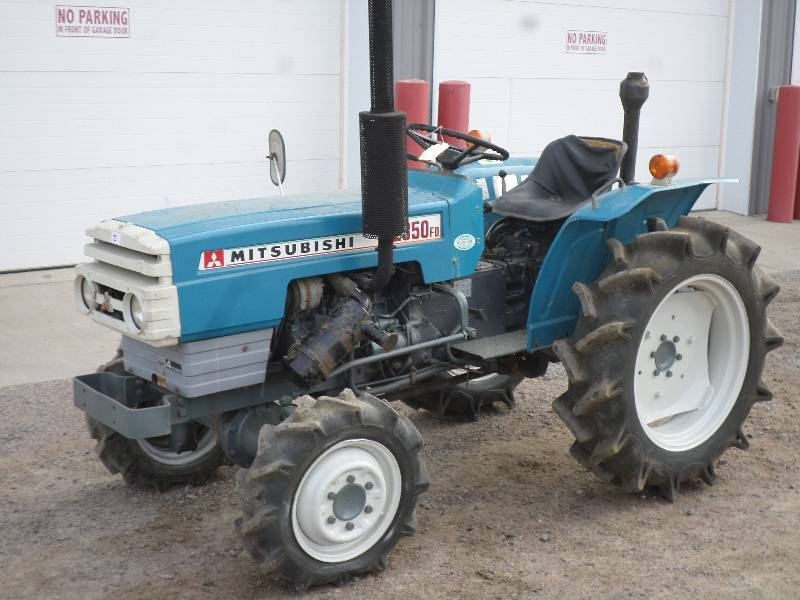 Mitsubishi Compact Tractor 4x4 : Auction listings in minnesota auctions loretto