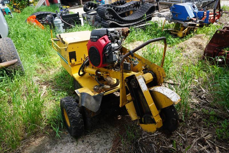 Vermeer Model Sc252 Power Stump Grinder Large