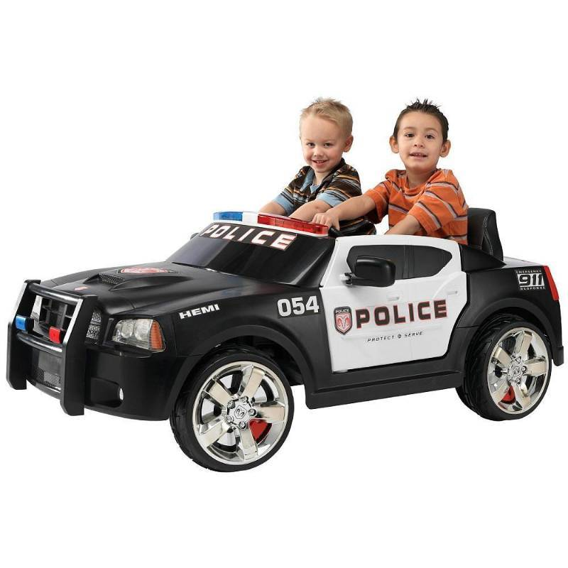 Dodge Hemi Police Car Power Wheel