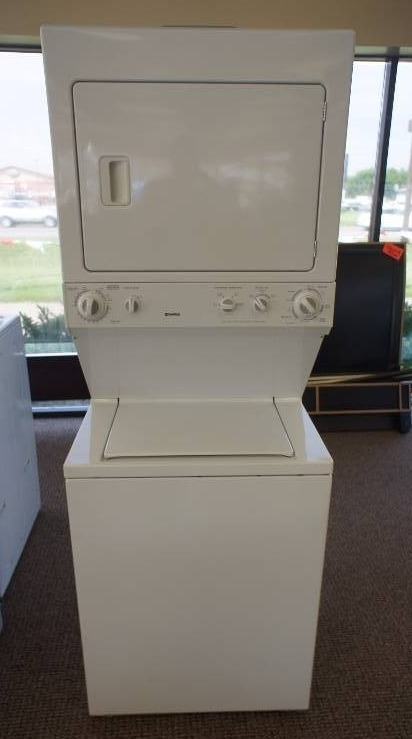 Kenmore Stacked Washer Dryer Combo Lg Liances 308 K Bid