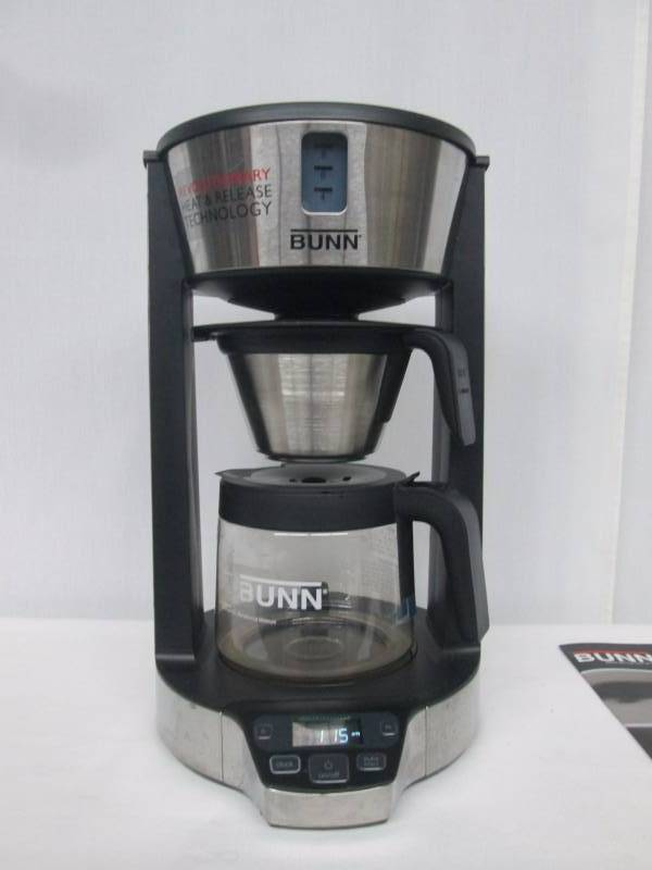 Bunn phase brew 8 cup coffee maker june store returns for Bunn phase brew 8 cup coffee brewer