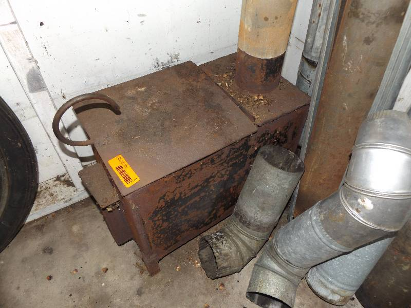 Fish house heater mudget family estate auction k bid for Fish house heaters
