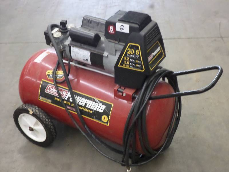 Coleman Powermate 20 Gallon 5hp 120 Loretto Equipment