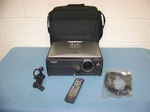 Sharp, XG-C435X, LCD Projector with Remote Control and Travel Bag