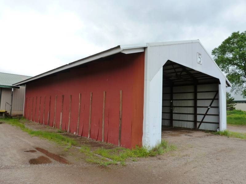 30 39 X60 39 Pole Storage Shed Open Ended No Reserve Pole