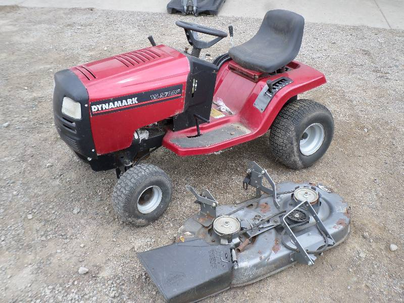 Dynamark Lawn Tractors : Auction listings in minnesota auctions loretto