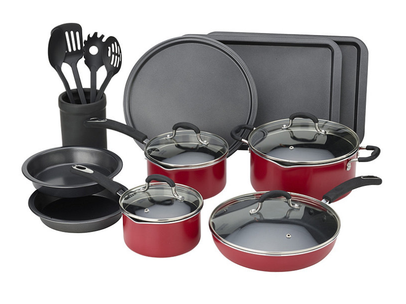 Alcove 18 Piece Stainless Steel Cookware Set Mankato