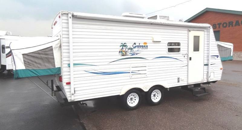2002 Keystone Cabana Hybrid 2150 Travel Trailer W Slide