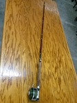 VERY RARE VINTAGE HEDON PAL FLY FISHING ROD AND REEL-OUTSTANDING CONDITION
