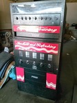 Awesome COMBO SODA (BBER) VENDING MACHINE WITH 9 SELECTION SNACK MACHINE-LIKE NEW