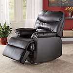 AWESOME BRAND NEW OVERSTOCK HIGH END LEATHER MASSAGE RECLINER