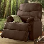 AWESOME BRAND NEW OVERSTOCK HIGH END MICRO SUEDE RECLINER ROCKER