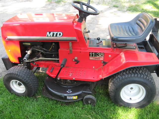 38 Inch murray riding Mower manual