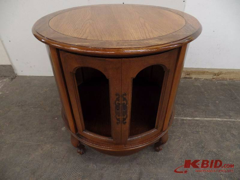 MA Williams July Consignments In St Louis Park Minnesota By - Round end table with doors