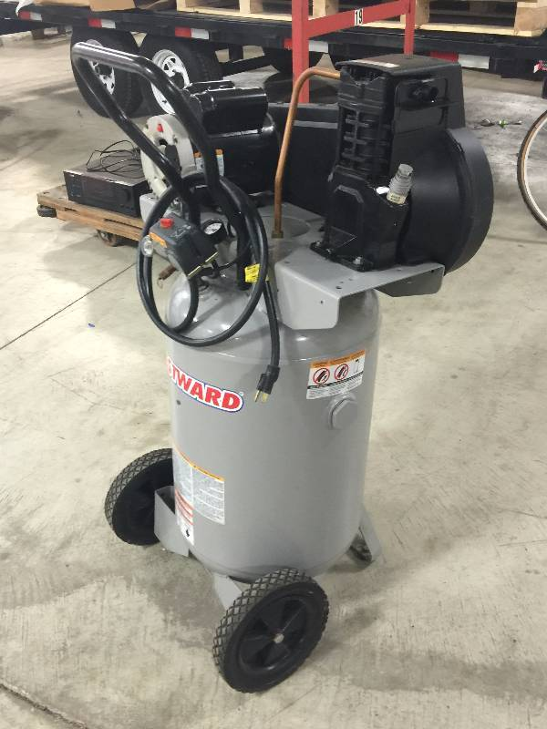 Westward Air Compressor 4tw29b 5 0 Hp 20 Gal