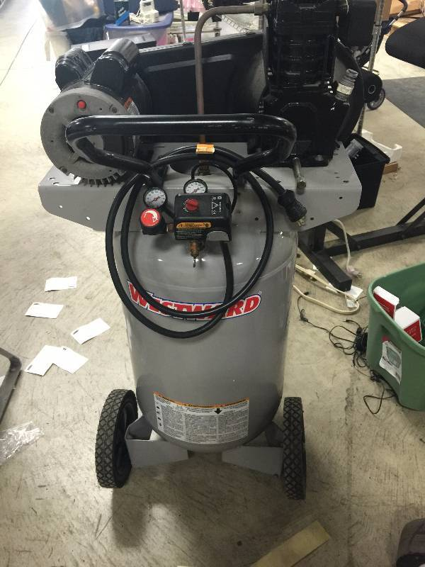 Westward Air Compressor Model 4tw29b Is A 5 0 Hp 20