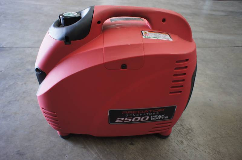 Predator 2500 Watt Portable Inverter Generator For The