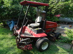Toro reel mower