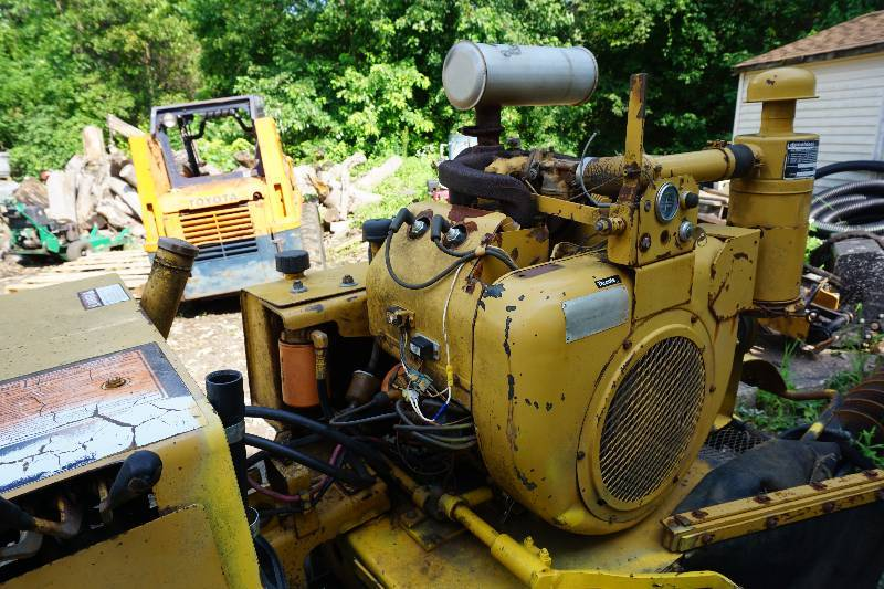 Vermeer Model 630 B Tow Behind Gas Powered Stump Grinder