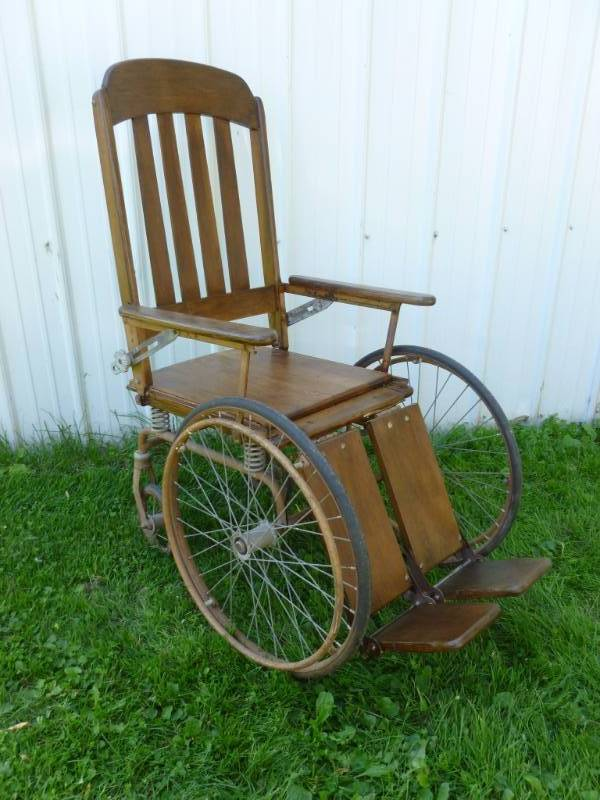 Antique wooden wheel chair manannah 169 furniture sale spectacular k bid Model home furniture auction mn