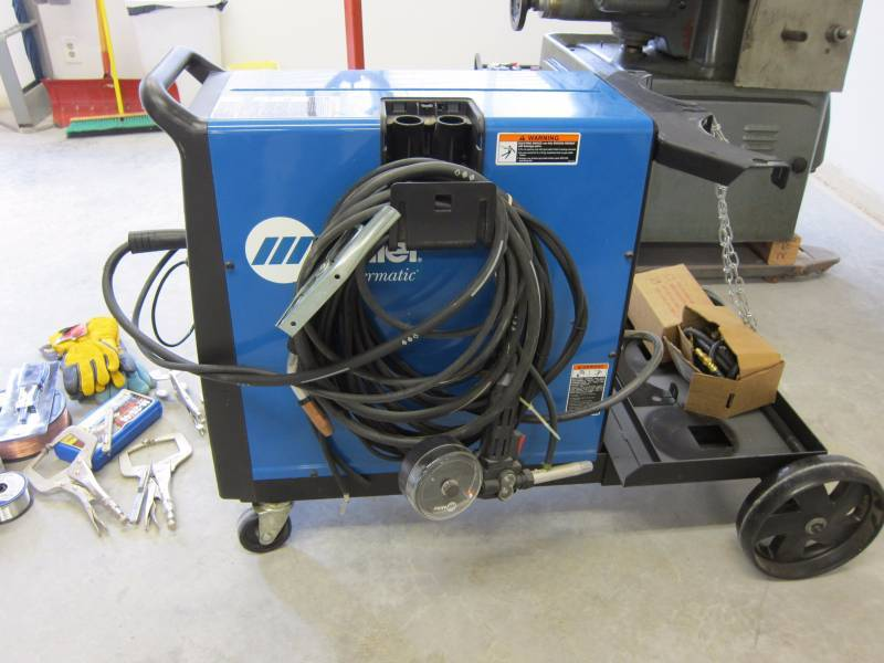 Mig Welder For Sale >> Millermatic 210 Wire Feed Mig Welder Accessories Abi 238
